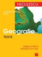 Teste de geografie clasa a VIII-a, Semestrul II