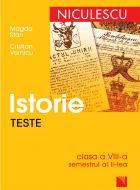 Istorie - Teste clasa a VIII-a (semestrul II)