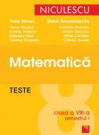 Matematica - Teste pentru clasa a VIII-a semestrul I