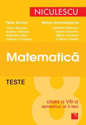 Matematica - Teste pentru clasa a VIII-a semestrul II