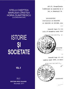 Istorie si societate vol.II