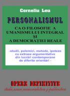 Personalismul ca o filosofie a umanismului integral si a democratiei reale