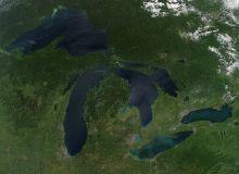Si apa Marilor Lacuri nord-americane s-a incalzit/NASA, via Wikipedia