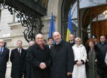 Ion Iliescu si Traian Basescu. Foto: presidency.ro