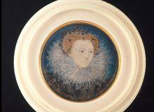 Portret miniatural al Elisabetei I/artdaily.org
