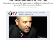 Elie Saab/Captura site Telegraph