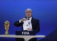 Sepp Blatter deschide plicul in care se afla numele gazdei CM 2018, Rusia / Mediafax