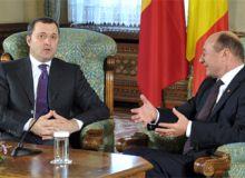 Vlad Filat si Traian Basescu/presidency.ro