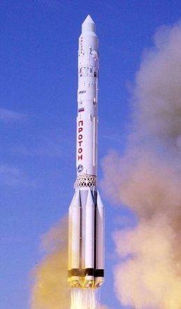 Racheta Proton la decolare.