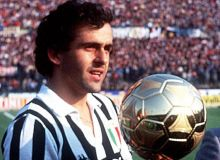 Michel Platini a castigat Balonul de Aur in 1983, 1984 si 1985 / sport24.com