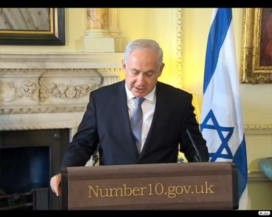 Benjamin Netanyahu/captura You Tube.JPG