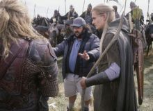 Peter Jackson in timpul filmarilor la Lord of the Rings/imdb.com