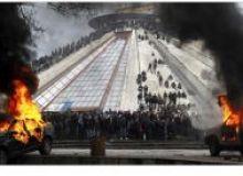 Proteste la Tirana