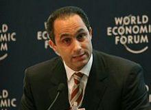 Gamal Mubarak, fiul presedintelui Egiptean Hosni Mubarak/Wikipedia