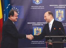 Vasile Blaga si Traian Basescu/adevarul.ro