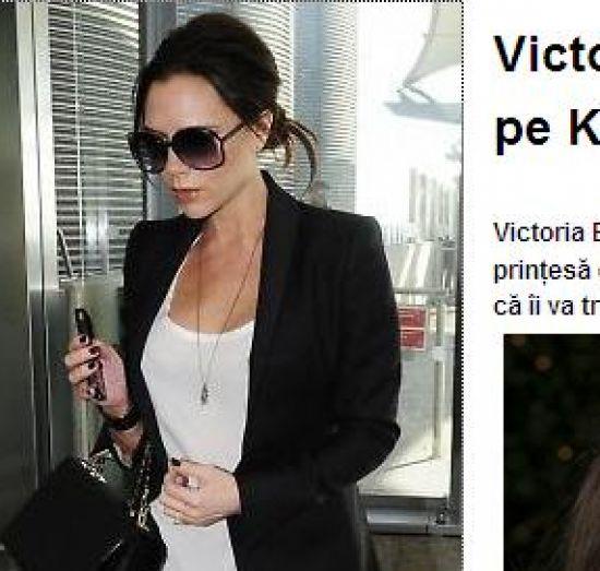 Victoria Beckham/captura okmagazine.ro