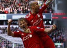 Dirk Kuyt a marcat toate golurile lui Liverpool/news.yahoo.com