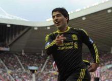 Luiz Suarez a marcat din nou pentru Liverpool/news.yahoo.com
