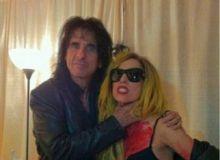 Lady Gaga si Alice Cooper, poza pe Twitter