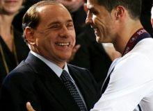 Silvio Berlusconi si Cristiano Ronaldo/acmilan.hu