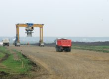 Autostrada Bucuresti-Ploiesti e gata in proportie de 50%, potrivit premierului.jpg/mediafax.ro