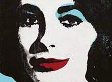 Tabloul semnat de Andy Warhol