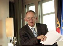Ministrul german al finantelor Wolfgang Schäuble