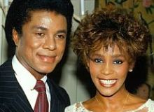 Jermaine Jackson si Whitney Houston/radaronline.com