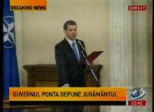 Daniel Constantin la depunerea juramantului (captura video).JPG