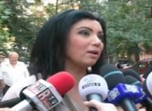 Adriana Bahmuteanu/captura video Romania TV