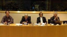 Klaus Thorner, Adrian Severin, Radu Golban si Albrecht Ritschl
