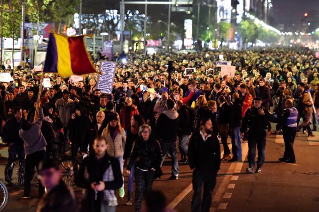 Duminică se anunţă noi proteste în Capitală şi alte oraşe din ţară