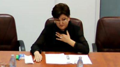 Inspectoarea Sanda Mates demasca sminteala din DNA