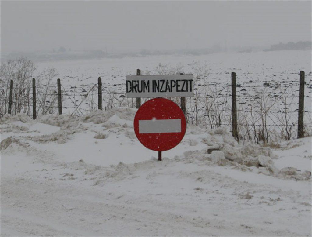 18 județe, sub cod portocaliu de ninsoare. Două drumuri naționale, închise din cauza zăpezii