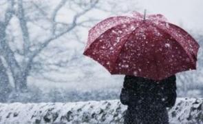 Ciclon de aer rece peste Capitală: încep ninsori ABUNDENTE