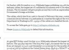 Site-ul Wikileaks.org
