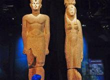 Statui expuse in cadrul vernisajului