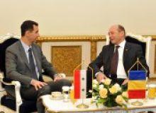 Traian Basescu si Bashar Al-Assad Foto: presidency.ro