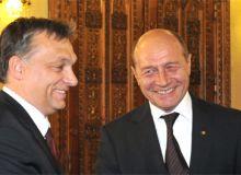 Viktor Orban si Traian Basescu. Foto: presidency.ro