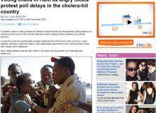 Epidemia nu este legata de seism si nu a fost provocata de o tulpina existenta in mediu/captura DailyMail