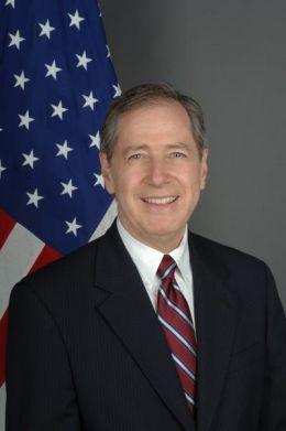 Ambasadorul SUA in Romania Mark Gitenstein