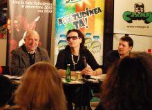 Conferinta de presa Steve Vai, Cafeneaua Verona/CorectArts