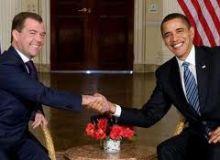 Barack Obama si Dmitri Medvedev/armybase.us
