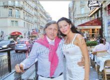 Ilie Nastase si Brigitte Sfat/captura Click.ro.