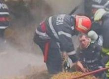 Anexele gospodariei afectate de incendiu au fost distruse/captura video Antena3