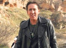 Nicolas Cage in Cappadocia/Today's Zaman