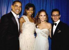 Barack si Michelle Obama alaturi de J-Lo si de Mark Anthony/gossipcop.com