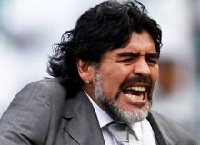 Diego Armando Maradona / guardian.co.uk