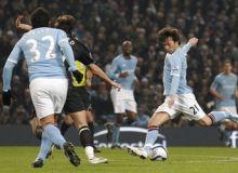 David Silva a marcat golul victoriei cu Wigan/news.yahoo.com