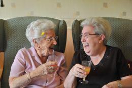Fericirea maxima vine la 85 de ani